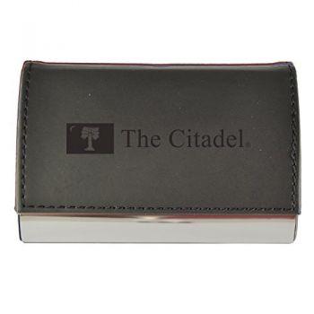 Velour Business Cardholder-The Citadel-Black
