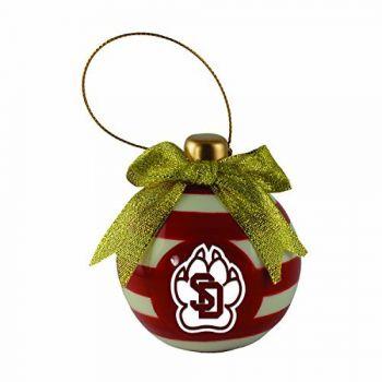 University of South Dakota -Christmas Bulb Ornament