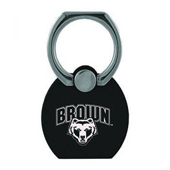 Brown University|Multi-Functional Phone Stand Tech Ring|Black