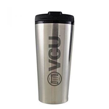 Virginia Commonwealth University-16 oz. Travel Mug Tumbler-Silver