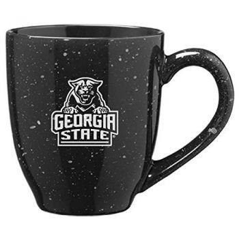 Georgia State University - 16-ounce Ceramic Coffee Mug - Black