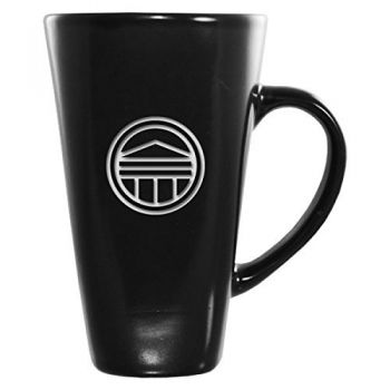 Longwood University-16 oz. Tall Ceramic Coffee Mug-Black