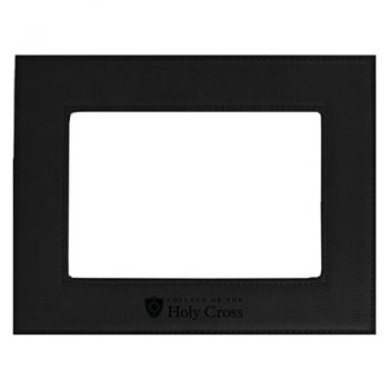 College of the Holy Cross-Velour Picture Frame 4x6-Black