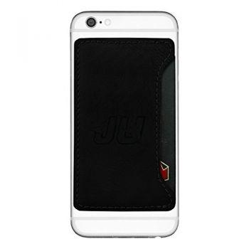 Jacksonville University-Cell Phone Card Holder-Black