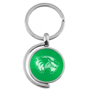 Utah Valley University - Spinner Key Tag - Green