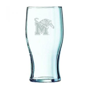 19.5 oz Irish Pint Glass - Memphis Tigers