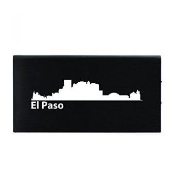 Quick Charge Portable Power Bank 8000 mAh - El Paso City Skyline