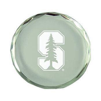 Stanford University-Crystal Paper Weight