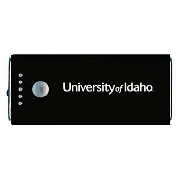 University of Idaho -Portable Cell Phone 5200 mAh Power Bank Charger -Black