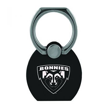 St. Bonaventure Bonnies|Multi-Functional Phone Stand Tech Ring|Black
