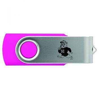South Carolina State University -8GB 2.0 USB Flash Drive-Pink