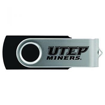 The University of Texas at El Paso -8GB 2.0 USB Flash Drive-Black