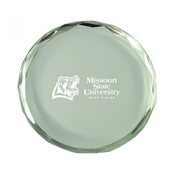 Missouri State University-Crystal Paper Weight