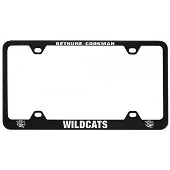 Bethune-Cookman University-Metal License Plate Frame-Black