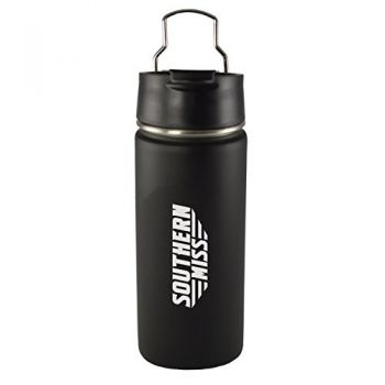 University of Southern Mississippi-20 oz. Travel Tumbler-Black