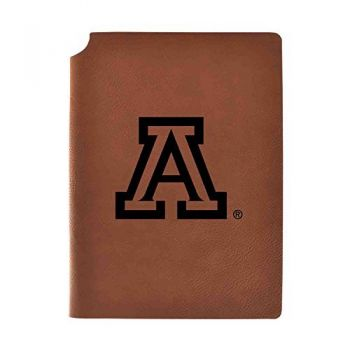 Arizona Wildcats Velour Journal with Pen Holder|Carbon Etched|Officially Licensed Collegiate Journal|