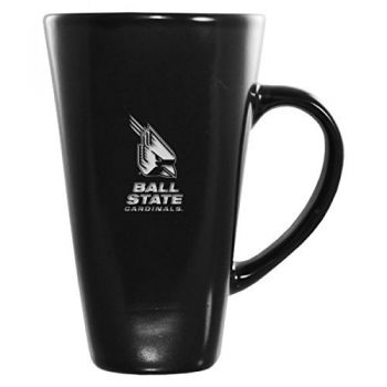 Ball State University -16 oz. Tall Ceramic Coffee Mug-Black