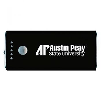 Austin Peay State University -Portable Cell Phone 5200 mAh Power Bank Charger -Black