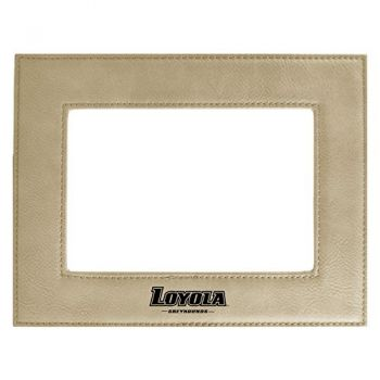 Loyola University Maryland-Velour Picture Frame 4x6-Tan