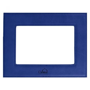 Canisus College-Velour Picture Frame 4x6-Blue