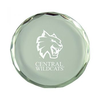 Central Washington University-Crystal Paper Weight