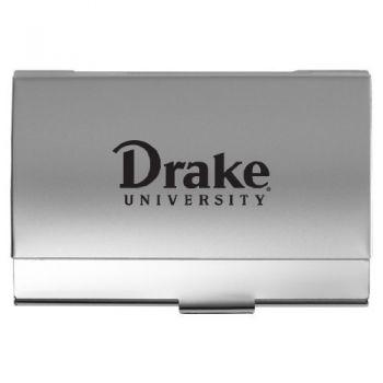 Drake University - Pocket Business Card Holder