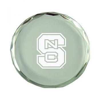 North Carolina State University-Crystal Paper Weight