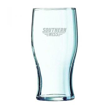 University of Southern Mississippi-Irish Pub Glass