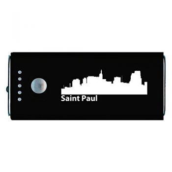 Quick Charge Portable Power Bank 5200 mAh - Saint Paul City Skyline