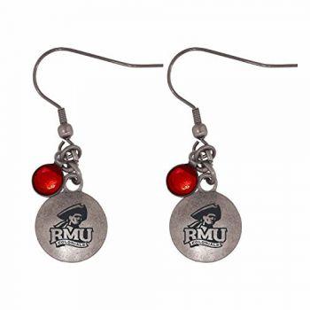 Robert Morris University-Frankie Tyler Charmed Earrings