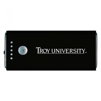 Troy University-Portable Cell Phone 5200 mAh Power Bank Charger -Black