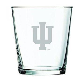 Indiana University -13 oz. Rocks Glass