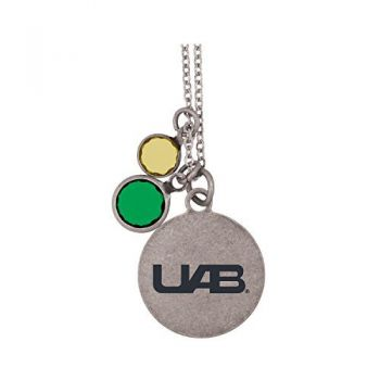 University of Alabama at Birmingham -Frankie Tyler by LXG Charmed Necklace