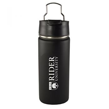 Rider University -20 oz. Travel Tumbler-Black