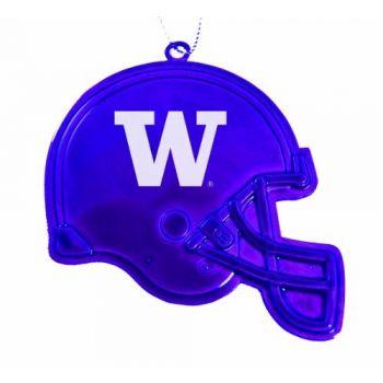 University of Washington - Christmas Holiday Football Helmet Ornament - Purple