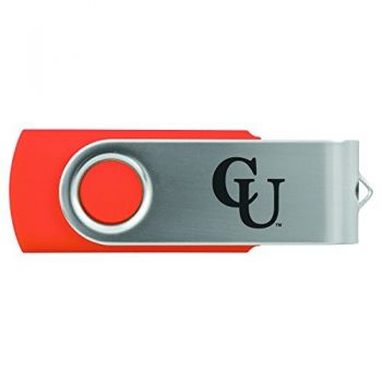 Campbell University -8GB 2.0 USB Flash Drive-Orange