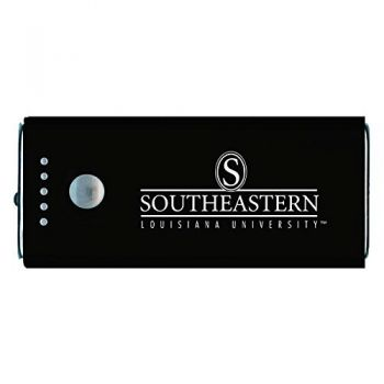 Southeastern Louisiana University -Portable Cell Phone 5200 mAh Power Bank Charger -Black