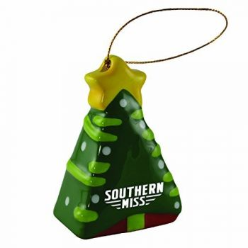 University of Southern Mississippi-Christmas Tree Ornament