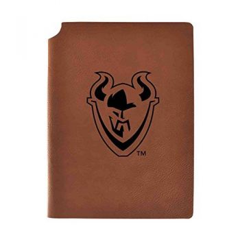 Portland State University Velour Journal with Pen Holder|Carbon Etched|Officially Licensed Collegiate Journal|