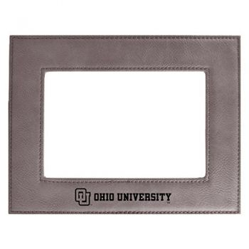 Ohio University-Velour Picture Frame 4x6-Grey