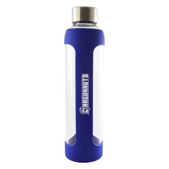 V-Glass Water with Silicone Sleeve-20 oz.-Blue