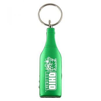 Ohio University-Wine Shaped Bottle Opener-Green