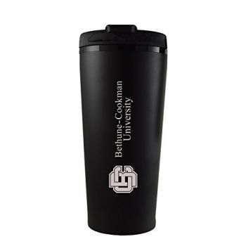 Bethune-Cookman University-16 oz. Travel Mug Tumbler-Black