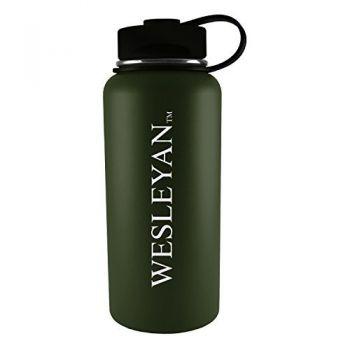 Wesleyan University -32 oz. Travel Tumbler-Gun Metal