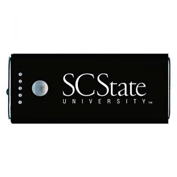South Carolina State University -Portable Cell Phone 5200 mAh Power Bank Charger -Black