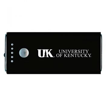 University of Kentucky -Portable Cell Phone 5200 mAh Power Bank Charger -Black
