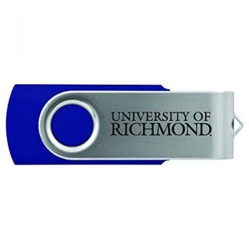 University of Richmond -8GB 2.0 USB Flash Drive-Blue