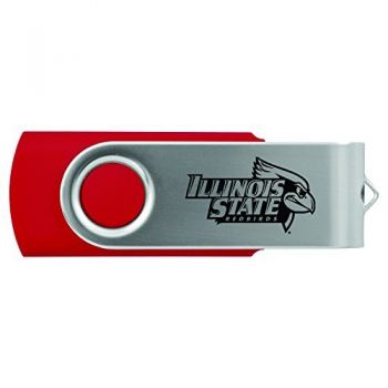 Illinois State University-8GB 2.0 USB Flash Drive-Red