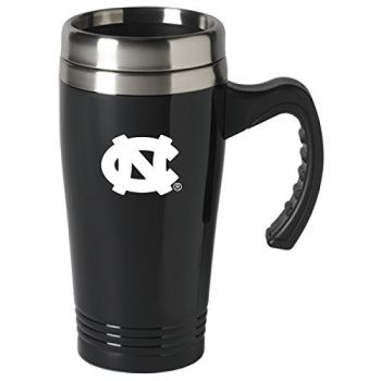 University of North Carolina-16 oz. Stainless Steel Mug-Black