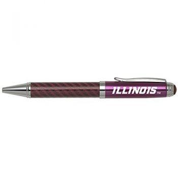 University of Illinois -Carbon Fiber Mechanical Pencil-Pink